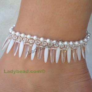Pearl Drop Anklet